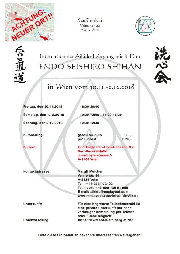 Endo Seishiro Shihan / Lehrgang