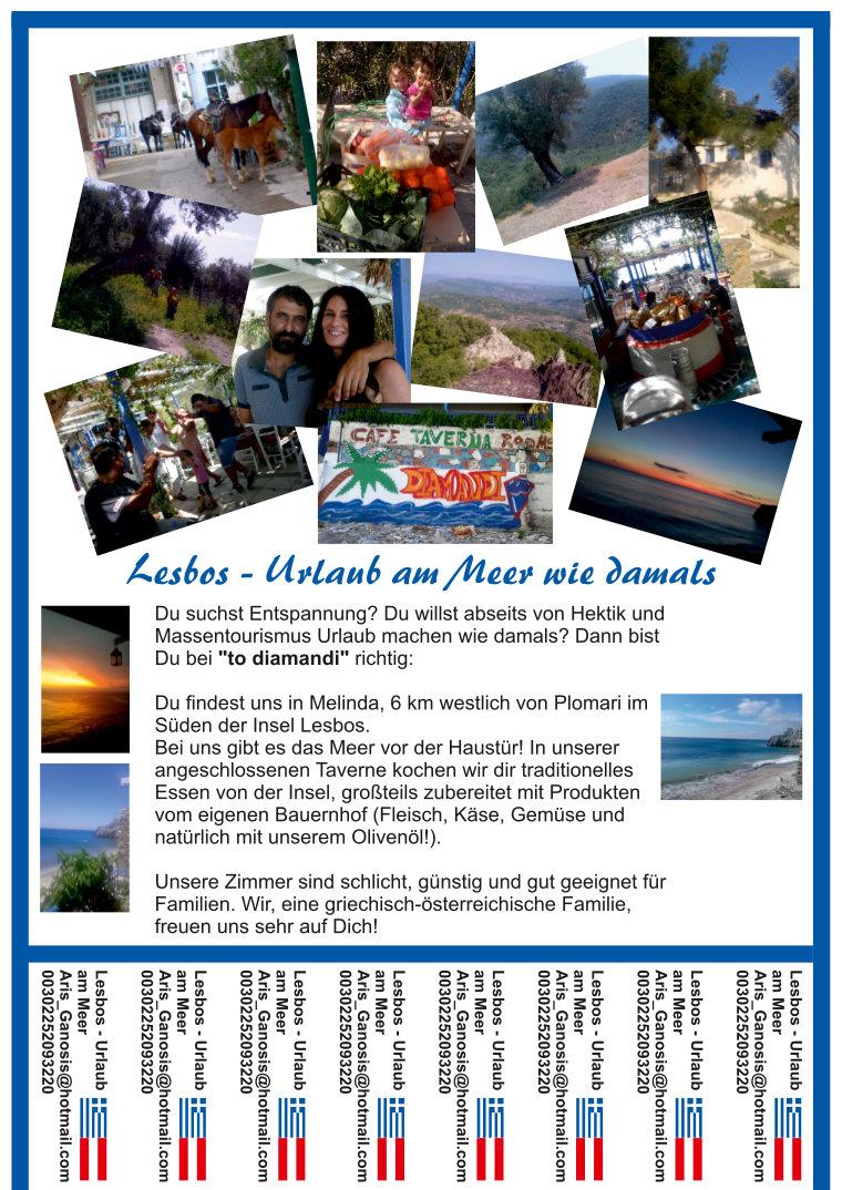 Urlaub Lesbos
